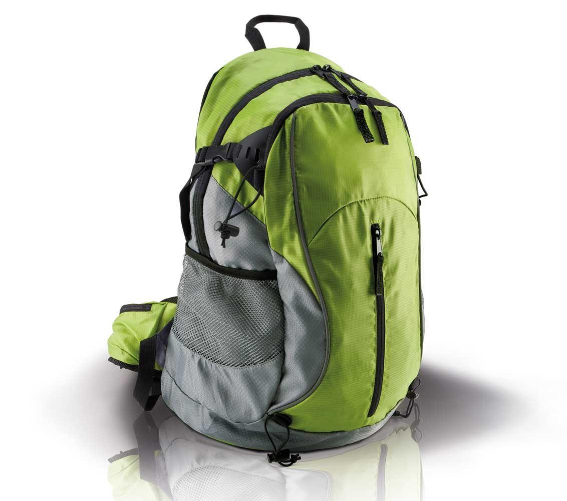 207e2e3ae677e Mały plecak trekkingowy KIMOOD®, kolor CZARNY / NIEBIESKI ...