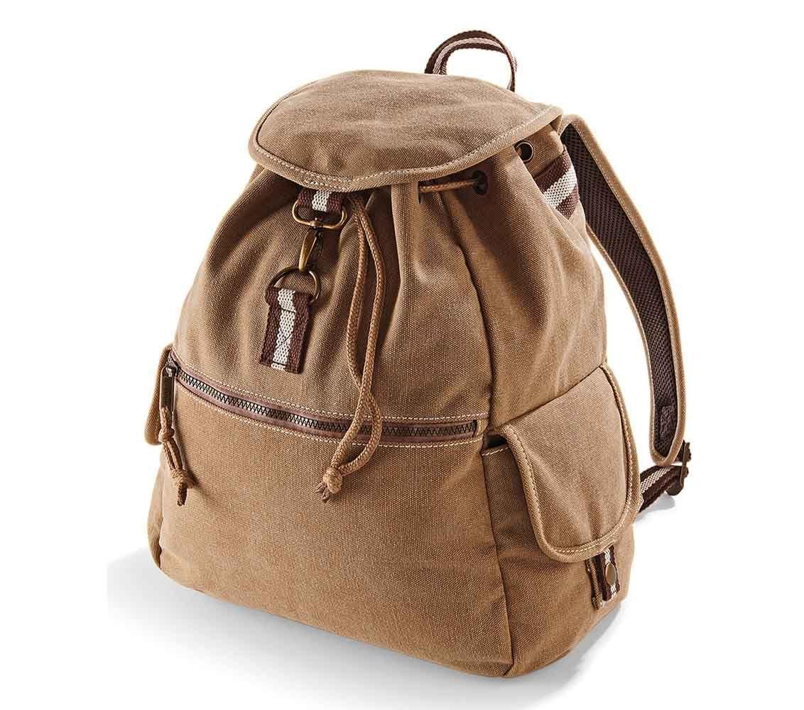 431756d18762f Płócienny plecak QUADRA® Vintage, kolor SZARY JASNY SPRANY ...
