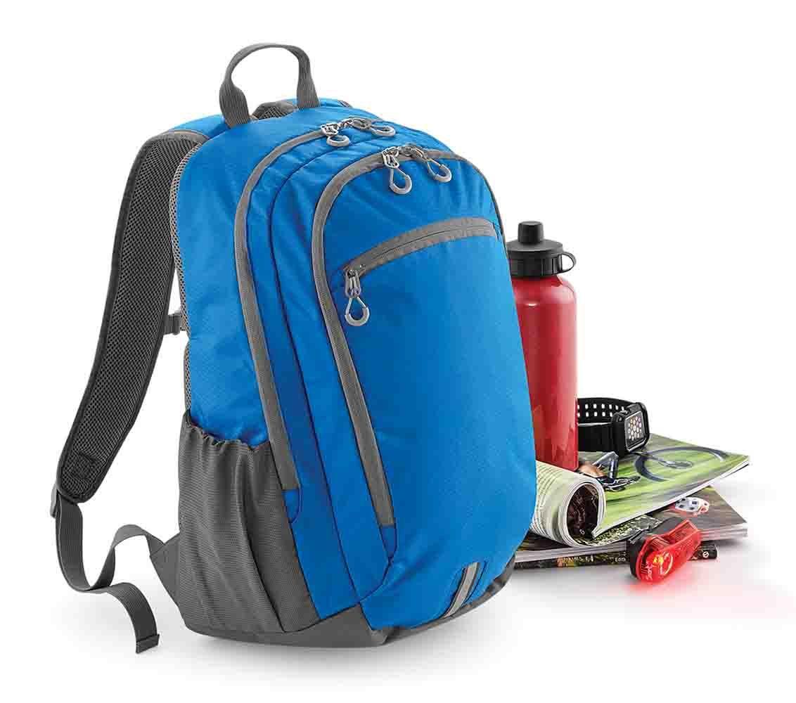 3ba620b130bef Mały plecak trekkingowy na laptopa QUADRA®, kolor CZARNY ...