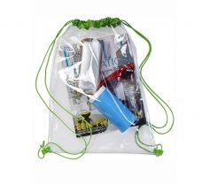TRANSPARENT BACKPACK 0927 21P.PW.195