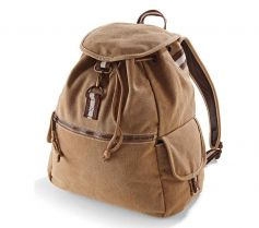VINTAGE CANVAS BACKPACK QD612 21P.QA.280