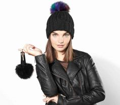 FUR POP POM KEY RING BEECHFIELD B400 21X.BF.383