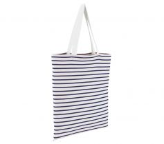 STRIPED JERSEY SHOPPING BAG LUNA 02097 21Z.SL.440