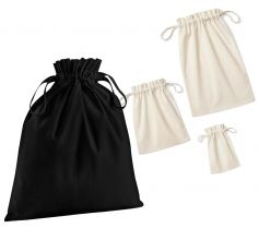 ORGANIC COTTON DRAWCORD BAG W118 21W.WM.503