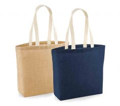 UNLAMINATED JUTE SHOPPER W458 21Z.WM.581