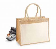 COTTON POCKET JUTE SHOPPER W427 21Z.WM.588