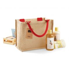 JUTE MINI GIFT BAG W412 21Z.WM.592