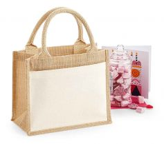 COTTON POCKET JUTE GIFT BAG W425 21Z.WM.593