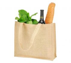 CALCUTTA LONG HANDLED JUTE SHOPPER BAG SH1105 21Z.SH.595