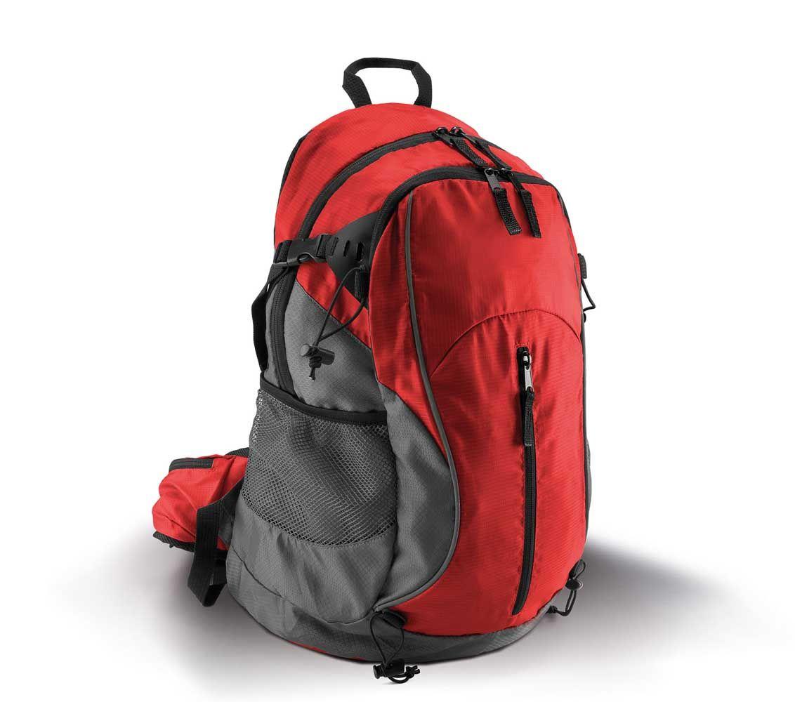 f15d8d7b2c576 Mały plecak trekkingowy KIMOOD®, kolor CZERWONY / SZARY ...